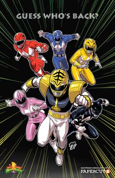 MTV Geek – The Original 'Mighty Morphin Power Rangers' Are Back In ...