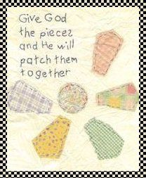 Embroidery Pattern Give God the pieces stitchery pattern Primitive Stitchery, Primitive Crafts, Primitive Snowmen, Primitive Christmas, Country Christmas, Christmas Christmas, Crewel Embroidery Kits, Embroidery Designs, Primitive Embroidery Patterns