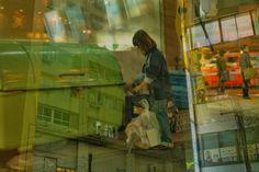 Issui Enomoto Taxi in the Sea japon yokohama fotografia callejera (4)