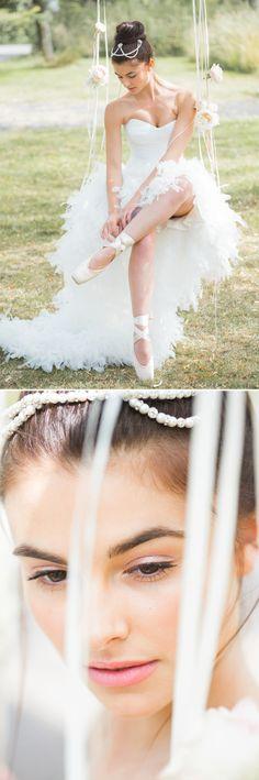 En Pointe by Rock My Wedding - super pretty. x