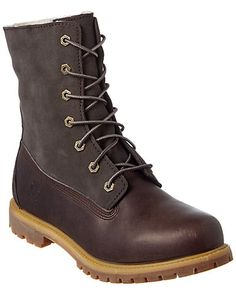official photos d9654 69ec8 Timberland Authentics Teddy Leather Boot Timberland Style, Timberland Boots,  Leather And Lace, Leather