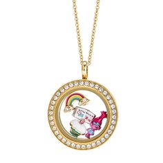 Origami Owl + She wields her positivity like a super-power, loves scrapbooking and believes all of life's problems can be solved with a song, a dance and a hug. She's perky, she's relentlessly upbeat, she's all things happy…she's Poppy! Wear this stunning and sparkly Gold Living Locket® full of rainbows and cupcakes, and don't be surprised if you have the urge to start dancing and crafting! https://staciemarshman.origamiowl.com/