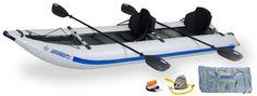 Sea Eagle 435PSK Pro Set Katamaran Kajak | SEA-EAGLE | BOOTE | Kajak Kanu Elektromotor bei BeachandPool.de online kaufen