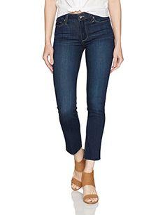 Women's Jacqueline Straight W/ Raw Hem Jeans Drift