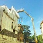 Montaggio con gru - Roma - VetroeXpert - Vetri speciali e Montaggi