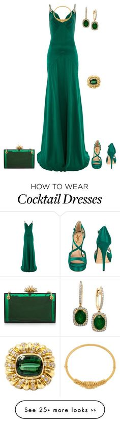 """""""outfit 2367"""" by natalyag on Polyvore featuring Temperley London, Yves Saint Laurent, Effy Jewelry, Charlotte Olympia and Chloé"""
