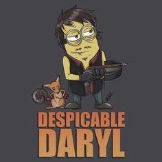 Minion Daryl - Walking Dead