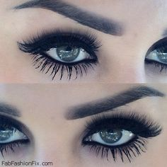 The perfect eyebrows and long eyelashes. Peace out fake eyelashes! I have Younique by Beauty Zen now! get yours at: www.youniqueproducts.com/beautyzen