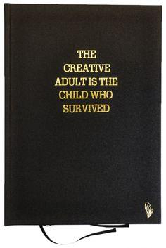 """Sketchbook """"Creative Adult"""" - handmade from Brosbi"""
