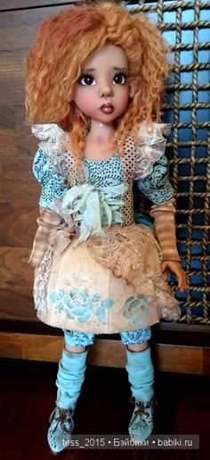 Моя Нисса как Алиса из страны чудес. Kaye Wiggs, Nissa / Куклы Кайе Виггз, Kaye Wiggs dolls / Бэйбики. Куклы фото. Одежда для кукол