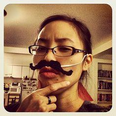 Ravelry: mustache dache stache FREE crochet pattern by sheena wong
