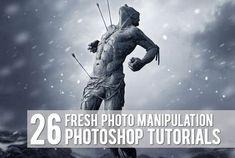 26 Fresh Photoshop Photo Manipulation Tutorials