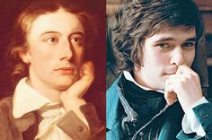 As written by John Keats (and as portrayed by Ben Wishaw). Happy 219th birthday, John!