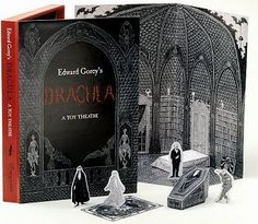 When Edward Gorey Illustrated Dracula: Two Masters of the Macabre, Together | Brain Pickings