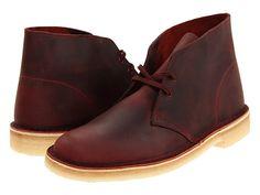 Clarks: Clarks Desert Boot Men's Lace-up Boots - Red Oak Leather Clarks Desert Boots Men, Men's Clarks, Magenta, Mens Lace Up Boots, Fashion Boots, Mens Fashion, Clarks Originals, Everyday Shoes, Men's Shoes