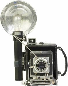 old camera with flash - Google Search