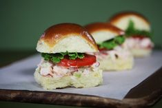 Recipe for lobster sliders