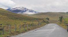 Volcán Nevado del Ruiz, un gigante que se deshiela