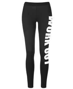 Leggings in a soft, stretchy cotton mix | Gina Tricot Active Sports | www.ginatricot.com | #ginatricot