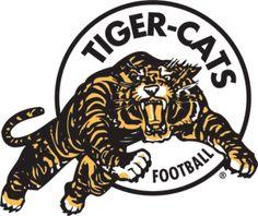 Hamilton Tiger-Cats - Football Sports Vector SVG Logo in 5 formats - Canadian Football League, Football Team, American Football, Football Helmets, Sports Team Logos, Sports Teams, Cool Graphic Tees, Cat Logo, Nhl
