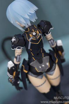3d Figures, Custom Action Figures, Character Concept, Character Art, Character Design, Frame Arms Girl, Robot Girl, Sci Fi Armor, Robot Concept Art