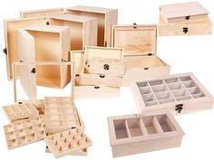 Sammler Holz-Box Holz-Schatulle Truhe Schatzkiste Tee-Box Geschenk-Box Holzkiste