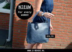 NIEUW! Deze tas is letterlijk 'For every women'. Naast het feit dat de tas er onwijs mooi uitziet is hij ook nog eens erg gemakkelijk om overal mee naar toe te nemen. Shop hem hier --> http://www.u-beads.nl/c-2809292/nieuw/  Voor 16.00 uur besteld = dezelfde dag verzonden.   Altijd GRATIS verzending binnen NL en BE!