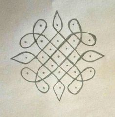 Rangoli Border Designs, Small Rangoli Design, Rangoli Patterns, Rangoli Ideas, Rangoli Designs Diwali, Rangoli Designs Images, Rangoli Designs With Dots, Kolam Rangoli, Rangoli With Dots