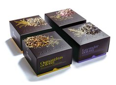 Zealong's oolong tea range created by Victor Design. #packaging #design