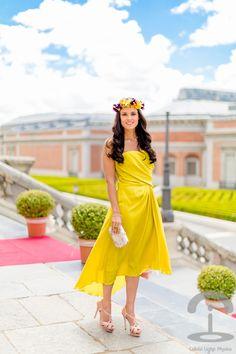 Look de boda con vestido de Halston Heritage-8368-crimenesdelamoda. Antonia @Marga Mayans , no te lo pienses más y ponte tus florecillas en el bodorrio ;)