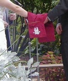 handfasting - here are some words with the hand tying - not exactly right though, i don't think