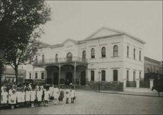 1920 - Estação do Norte. Situava-se no então Largo do Brás, atual Largo da Concórdia. A partir de 1945 a estação foi renomeada para Estação Presidente Roosevelt.