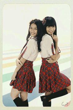 Melody Nurramdhani, Stella Cornelia #JKT48 #AKB48
