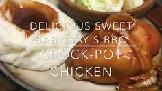 Delicious Sweet Baby Ray's BBQ Crock-Pot Chicken