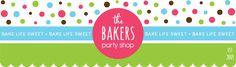 The Bakers Party Shop blog is where The Bakers Confections will showcase yummy baking recipes, product tips and party inspiration!
