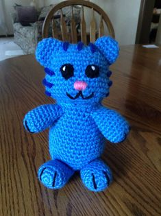 Crochet Tigey from Daniel Tiger's Neighborhood by beccabeargirl, $20.00