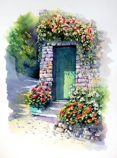 Watercolor By Ann Mortimer