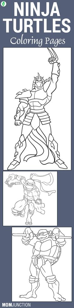 25 Fun Ninja Turtles Coloring Pages Your Toddler Will Love To Do