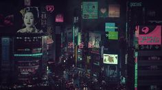 Scenery Pictures of Lost in Beauty of Tokyo at Night