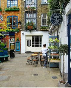 Neal's Yard Covent Garden London