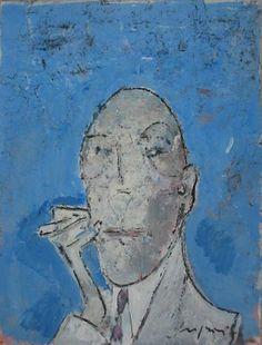 Art Gallery L'UOVO DI LUC  Franco Rognoni - Milano Milano, Faces, Painting, Google, Art, Drawings, Painting Art, Face, Paintings