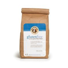 Toast to your health with this nutty tasting flour blend.   Our ancient grains blend – made of 30% each amaranth, millet, and sorghum flours and 10% quinoa flour – is 100% whole grain and gluten-free. It adds protein, fiber, vitamins, and minerals to your baked goods, not to mention a fantastically complex taste.    Ideal for everything from savory breads to sweet scones, we like the depth of flavor and touch of hearty texture it gives.