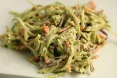 Broccoli Slaw in HCG Diet Recipes, HCG Phase 2 Recipes, HCG Phase 3 Recipes, Vegetable HCG Diet Recipes, Vegetable HCG Diet Recipes