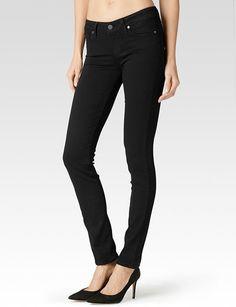 My most favorite skinny jeans ever. Fit like a glove. Paige Premium Denim Skyline Skinny Jean in Black