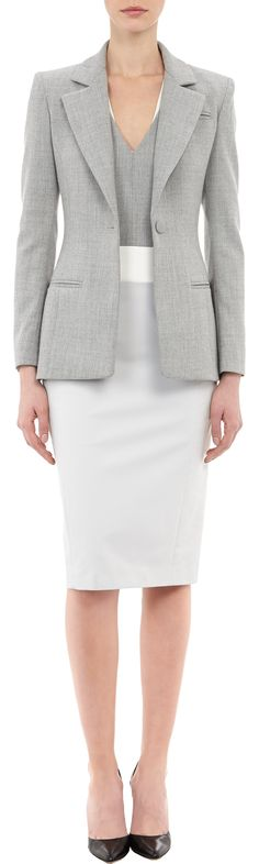 "Altuzarra Acacia Blazer at Barneys.com . Worn by Lana Parilla as Regina Mills in ""Once Upon a Time"" A Tale of Two Sisters"