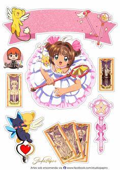 Sakura Card Captor, Cardcaptor Sakura, Lol Doll Cake, Sailor Moom, Kawaii, Lol Dolls, Baby Prints, Moana, Cake Toppers