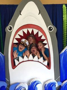 Discover recipes, home ideas, style inspiration and other ideas to try. Luau Birthday, Pirate Birthday, 1st Birthday Parties, Underwater Birthday, Shark Party Decorations, Ocean Party, Under The Sea Party, Baby Shark, Pirate Crafts