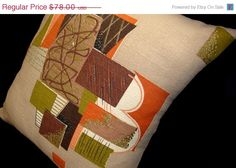 SPRING SALE Mid Century Modern  Vintage by atomiclivinhome on Etsy, $70.20