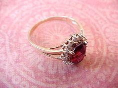 Very Pretty and Dainty 10K Gold ring with by TheJewelMystique, $120.00