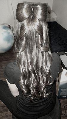 my favorite hair style<3
